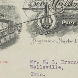 M. P. Moller. Envelope