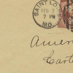 Nelson Chesman & Co.. Envelope