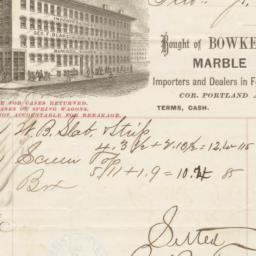 Bowker, Torrey & Co.. Bill