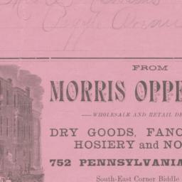 Morris Oppenheim. Other medium
