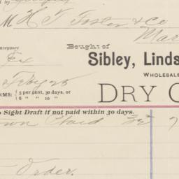 Sibley, Lindsay & Curr. Bill