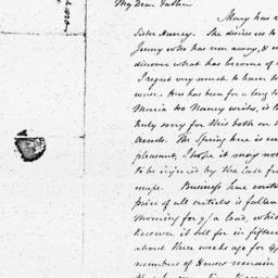 Document, 1820 March 30