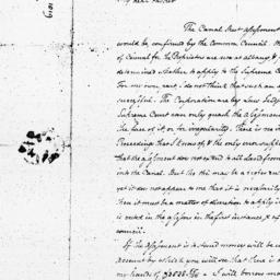 Document, 1819 November 11