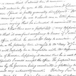 Document, 1819 March 18