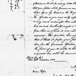 Document, 1814 October 28