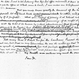 Document, 1809 January 31