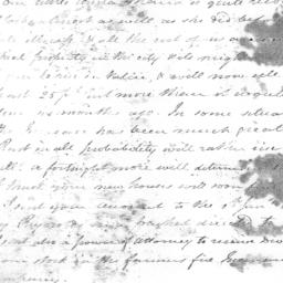 Document, 1825 January 20