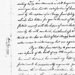 Document, 1782 April 29