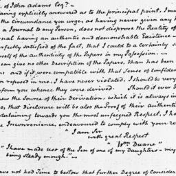 Document, 1821 March 27