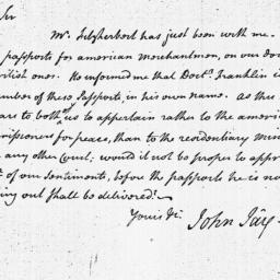 Document, 1783 February 01