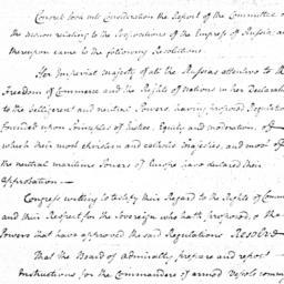 Document, 1780 October 5