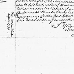 Document, 1738 April 04