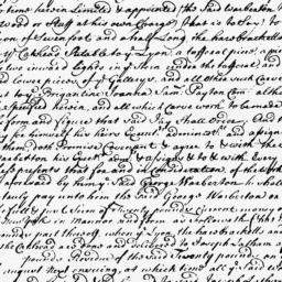 Document, 1729 May 21