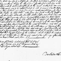 Document, 1728 October 26