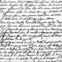 Document, 1725 June 05