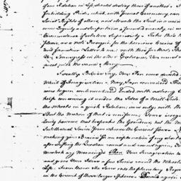 Document, 1766 August 25