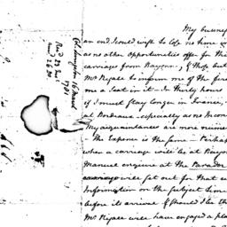 Document, 1781 March 16