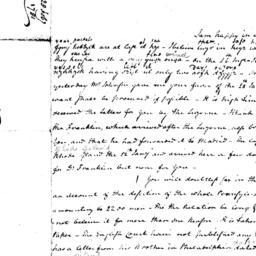 Document, 1781 February 28