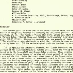 Minutes, 1952-11-19. The St...