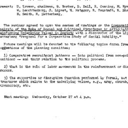 Minutes, 1954-10-13. The St...
