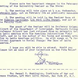 Correspondence, 1962-01-23....