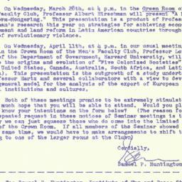 Correspondence, 1962-03-16....