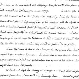 Document, 1781 June 25