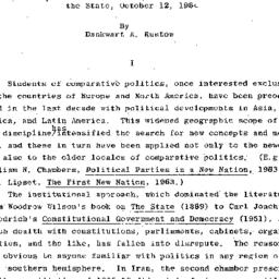 Handouts, 1964-10-12. The S...