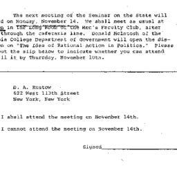 Correspondence, 1966-11-07....