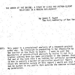 Speaker's paper, 1973-03-26...