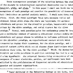 Speaker's paper, 1973-12-05...