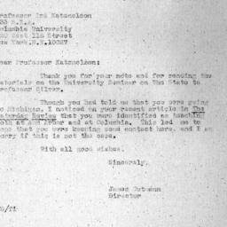 Correspondence, 1975-06-26....