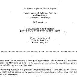 Announcements, 1982-01-26. ...