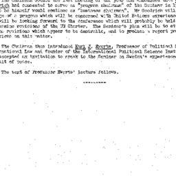 Minutes, 1951-05-15. The Pr...