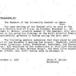 Minutes, 1954-10-26. The Pr...