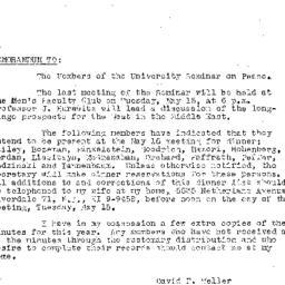 Minutes, 1956-05-01. The Pr...