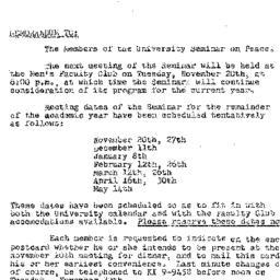 Minutes, 1956-10-23. The Pr...