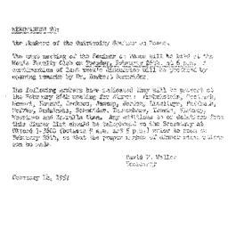 Minutes, 1957-02-12. The Pr...