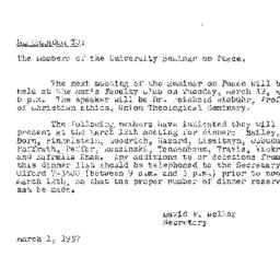 Minutes, 1957-02-26. The Pr...