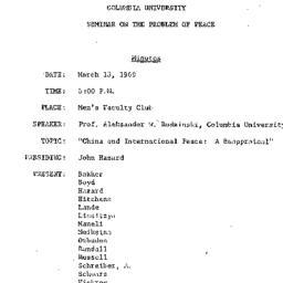 Minutes, 1969-03-18. The Pr...