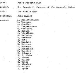 Minutes, 1971-02-23. The Pr...