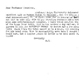 Correspondence, 1958-11-17....