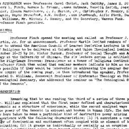Minutes, 1973-10-15. Studie...