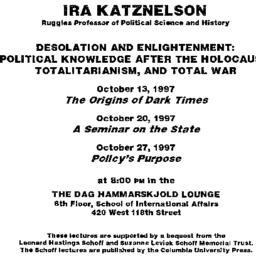 Announcements, 1997-10-13. ...