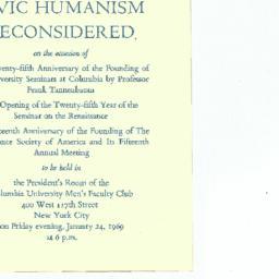 Announcements, 1969-01-24. ...