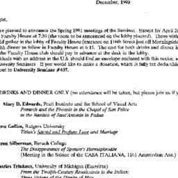 Correspondence, 1990-12-00....