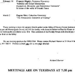 Correspondence, 1993-01-06....