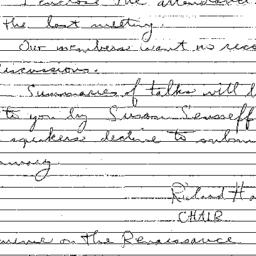 Correspondence, 1999-10-25....