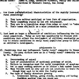 Minutes, 1957-12-18. Rural ...