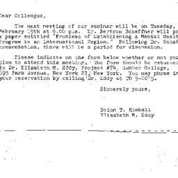 Correspondence, 1963-02-08....